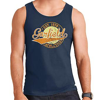 Garfield Atletiek logo opgericht 1978 mannen ' s vest