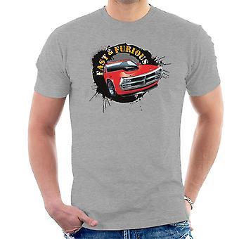 Nopea ja raivoissaan auton Splatter miesten ' s T-paita