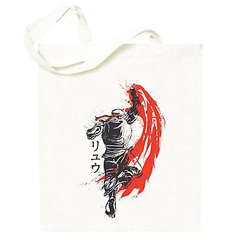 Traditionelle Kämpfer Ryu Street Fighter Totebag