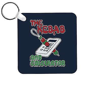 Kebab And Calculator The Young Ones Keyring