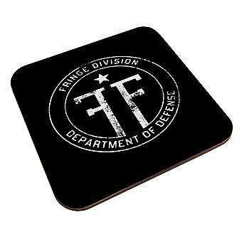 Fringe Logo Vintage Coaster