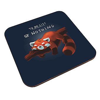 Rød Panda å gjøre liste ingenting Coaster