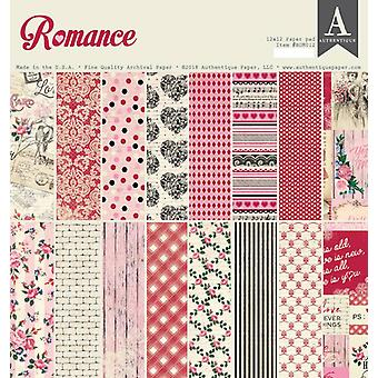 Authentique Romance 12x12 pulgadas De papel Pad