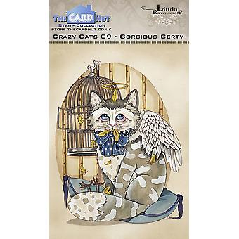 The Card Hut Crazy Cats Gorgious Gerty Clear Stamps