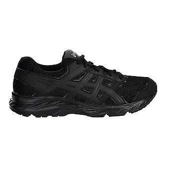 Asics Gel-Contend 5 Kids Running Fitness Training Trainer Shoe Black