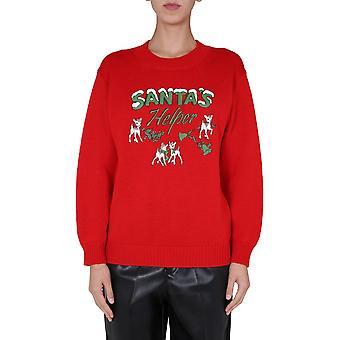 Filosofia Por Lorenzo Serafini 090171071112 Women's Red Wool Sweater