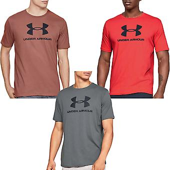 Under Armour UA Mens Sportstyle Logo Short Sleeve Crew Neck Tee Top T-shirt