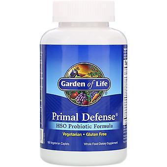 Garden of Life, Primal Defense, HSO Probiotic Formula, 180 Vegetarian Caplets