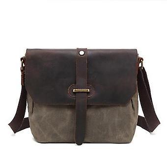 Casual Canvas Crossbody Messenger Bag für Männer