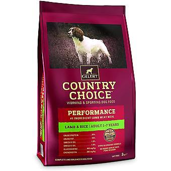 Gelert Country Choice Performanță Miel și Orez - 12kg