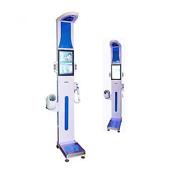 LCD-skjerm menneskelig utskrift mynt operert Bmi ultralyd høyde og vekt