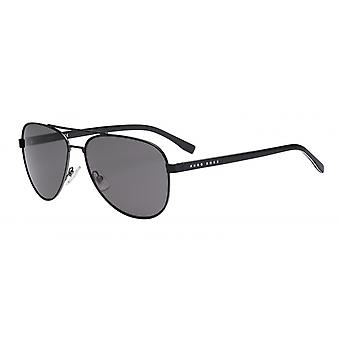Sunglasses Men 0761/Sqil/Y1 Men's Black/Smoke