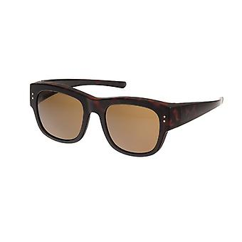 Sunglasses Women's Brown with Brown Lens VZ0038B