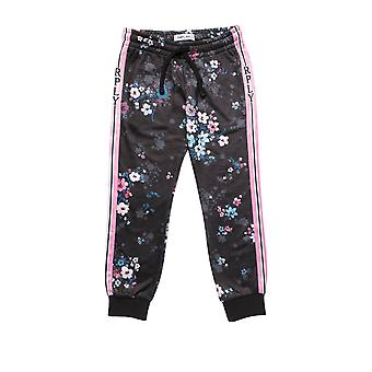 Replay Girls' All-Over Floral Print Joggers