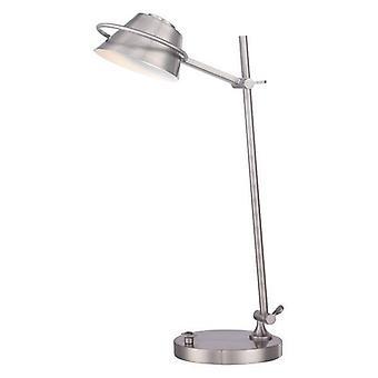 Elstead - LED 7 Light Desk Lampe brossé Nickel