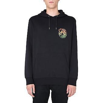 Paul Smith M1r180tep195279 Men's Black Cotton Sweatshirt
