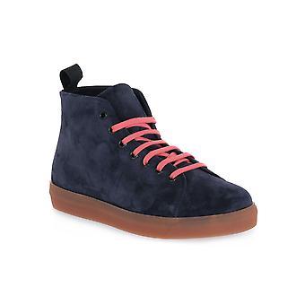 Frau cahemire blauwe schoenen