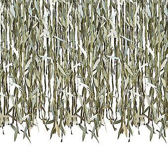 Botanical Willow Leaf Ribbon DIY Telón de fondo 100m - Baby Shower