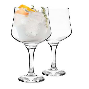 Rink Drink 2 Piece Balloon Gin Glass Set - Large Copa Style Bowl Glass - 690ml