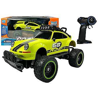 Op afstand bestuurbare auto Off-road R / C Beetle Green 2.4G