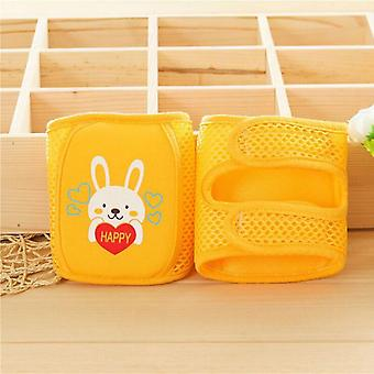 Kids Girl / Boy Crawling Elbow Infants Knee Pads- Protecteur Safety Mesh Kneepad