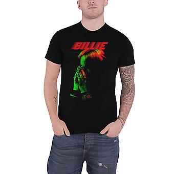 Billie Eilish T Shirt Hands and Face Logo new Official Mens Black