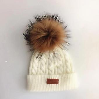 Knitted Winter Pom Fashion Baby Hat