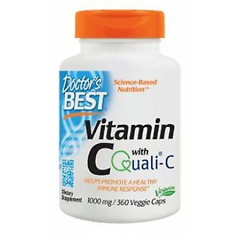Doctors Best Vitamin C with Quali, 1000 mg, 360 Vcaps