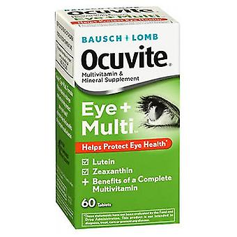 Bausch And Lomb Bausch + Lomb Ocuvite Eye + Multivitamin & Mineral, 60 Tabs