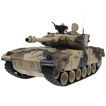 Rc Tank Tactical Vehicle Main Battle Military Model, Sound Recoil Electronic