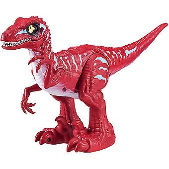Zuru Robo Alive Härjande Raptor - Röd