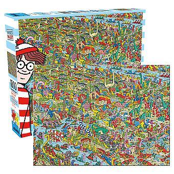 Where's waldo 1000pc puzzle