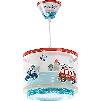 Police suspension chandelier