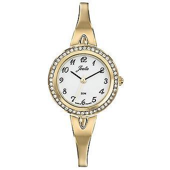 Certus Watch 631994 - JOALIA stål dor glass sertie hvit dial kvinne