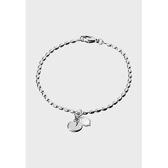 Kalevala Bracelet Women's Twinflower Silver Pearl 2565402HE205 - Length 205 mm