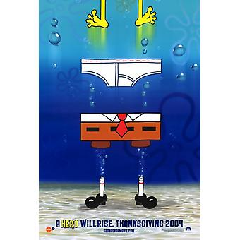 SpongeBob SquarePants Movie Movie Poster Print (27 x 40)