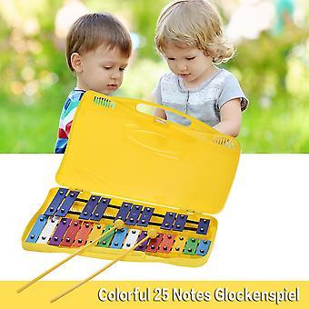 25 Noten Glockenspiel Xylophone Percussion Rhythmus Musikalische pädagogische serpädagogisches Lehrmittel Spielzeug