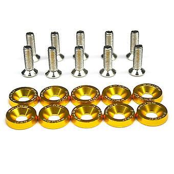 Hex Fasteners Fender Washer Bumper Engine Concave Screws, Fender Washer License