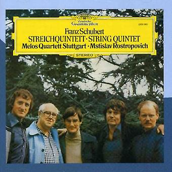 F. Schubert - Schubert: String Quintet [CD] USA import