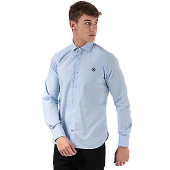 Men's Henri Lloyd Cotton Popeline Shirt in Blue