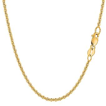 14k Yellow Gold Forsantina Chain Necklace, 2.3mm