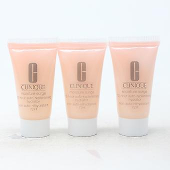 Clinique Moisture Surge 72-Hour Auto-Replenishing Hydrator (Pack Of 3)  / New