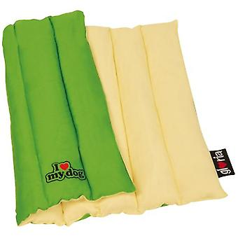 I Love My Dog Rolling mat Green (Dogs , Bedding , Blankets and Mats)
