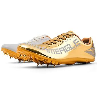 Women's Men's Track And Field Shoes- Track Spike Running Sprint Shoes