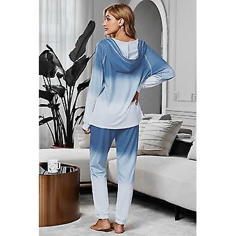 Cotton Blend Tie Dye Hoodie Joggers Loungewear