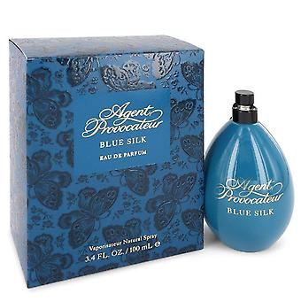 Agent Provocateur Blue Silk Eau De Parfum Spray By Agent Provocateur 3.4 oz Eau De Parfum Spray