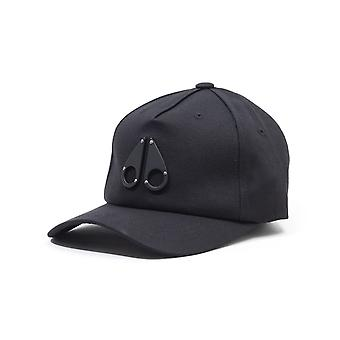 Moose Knuckles Space Age Matte Logo Cap - Black