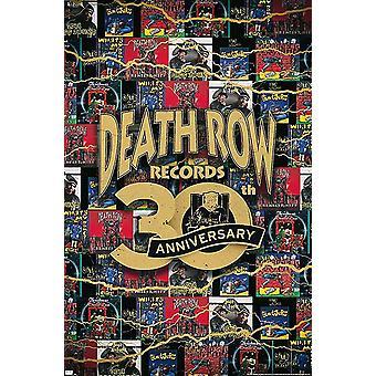 Cartel del Corredor de la Muerte Portada 30 Aniversario 86.4 x 56.8 cm