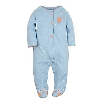 100% Algodão Fantasia, Pijama do Sono - Home Wear Baby Romper