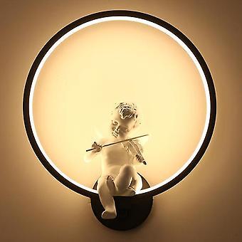 Lampes murales dirigées modernes autour de l'ange aluminium décoratif salon intérieur salle à manger couloir lampe mur d'éclairage intérieur sconce